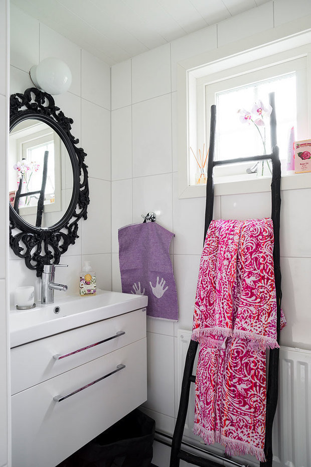 Фотография: Ванная в стиле Скандинавский, Декор интерьера, Дом, Швеция, Дача, Дом и дача – фото на InMyRoom.ru