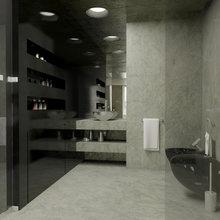 Фотография: Ванная в стиле Современный, Декор интерьера, Квартира, Дома и квартиры, Проект недели – фото на InMyRoom.ru