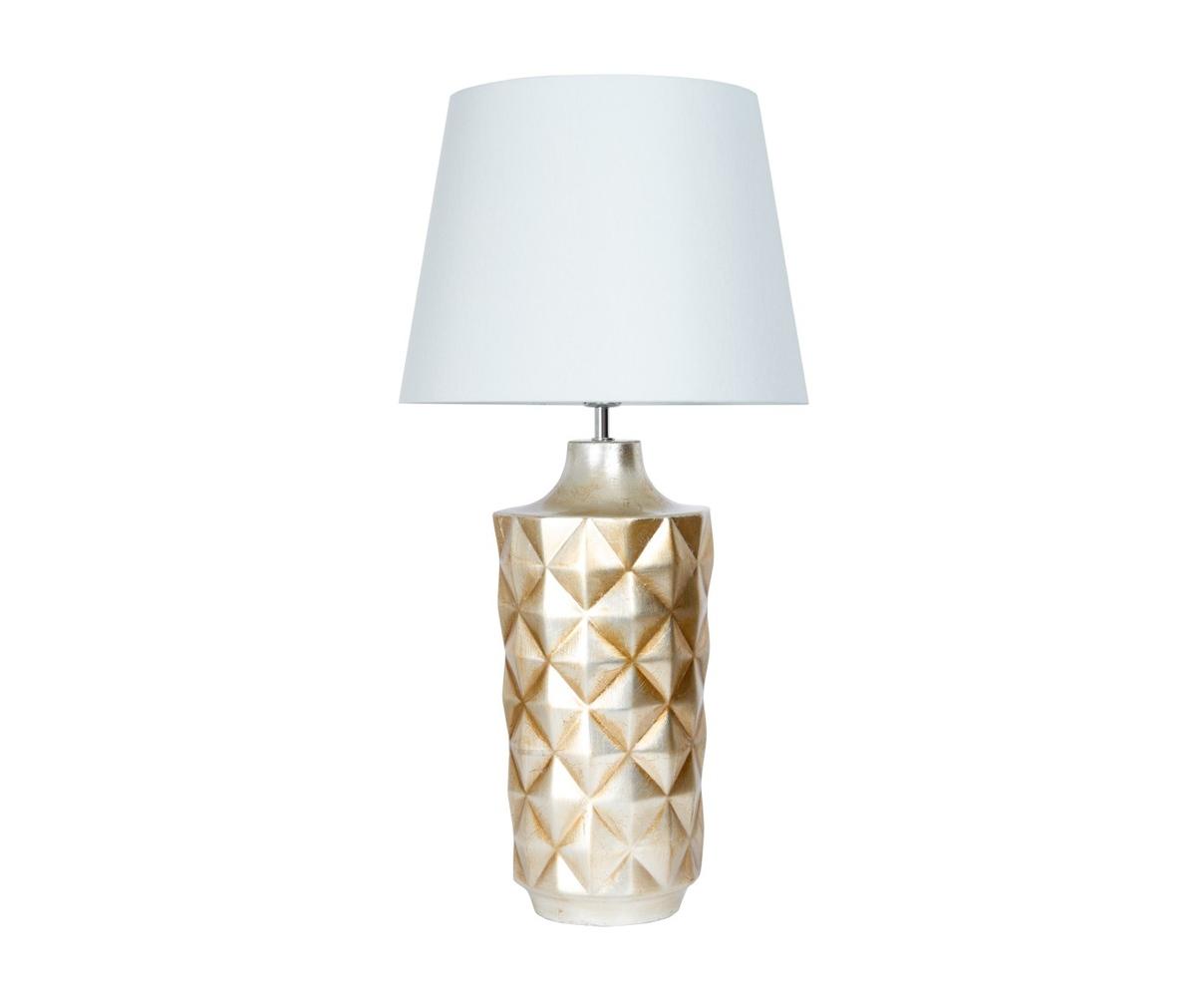 Купить Настольная лампа из керамики с белым абажуром, inmyroom, Португалия