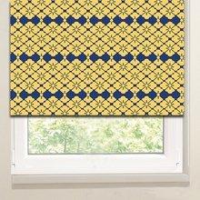 Рулонные шторы на кухню: Цветочный орнамент