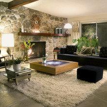 Фотография: Гостиная в стиле Кантри, Декор интерьера, Мебель и свет, Светильник – фото на InMyRoom.ru