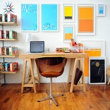 Фотография: Офис в стиле Современный, Детская, Кабинет, Интерьер комнат – фото на InMyRoom.ru
