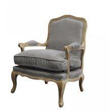 Французкое кресло Шебби шик с подлокотниками
