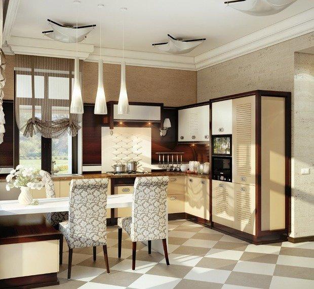 Фотография: Кухня и столовая в стиле Классический, Современный, Декор интерьера, Дом, Дома и квартиры, Проект недели, Неоклассика – фото на InMyRoom.ru