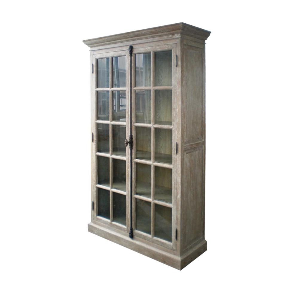 Шкаф-витрина Voltaire Casement с двумя распашными дверцами