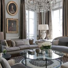 Гостиная в апартаментах на rue de Saints Peres. Дизайн: Жан-Луи Денио