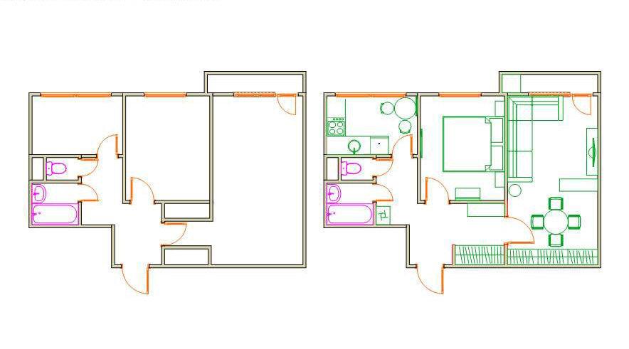 Фотография: Прочее в стиле , Малогабаритная квартира, Квартира, Дома и квартиры, IKEA, Переделка – фото на InMyRoom.ru