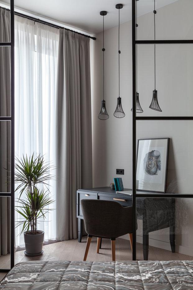 Фотография: Кабинет в стиле Современный, Квартира, Проект недели, Москва, 3 комнаты, Более 90 метров – фото на INMYROOM