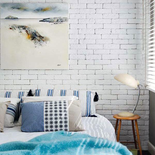 Фотография: Спальня в стиле Скандинавский, Декор интерьера, Декор дома, Стены – фото на InMyRoom.ru