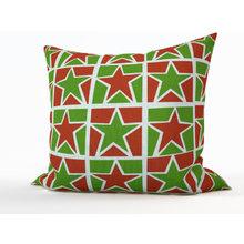 Декоративная подушка: Рождественские звезды