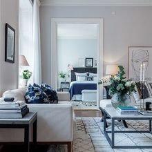 Фото из портфолио Синие акценты : не столь эффектно, зато спокойно, сдержанно, элегантно! – фотографии дизайна интерьеров на INMYROOM