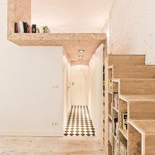 Фотография:  в стиле Скандинавский, Современный, Малогабаритная квартира, Квартира, Дома и квартиры – фото на InMyRoom.ru