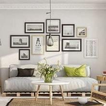 Фотография: Гостиная в стиле Скандинавский, Декор интерьера, Дизайн интерьера, Декор, Цвет в интерьере – фото на InMyRoom.ru