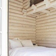 Фото из портфолио Бревенчатый дом – фотографии дизайна интерьеров на InMyRoom.ru