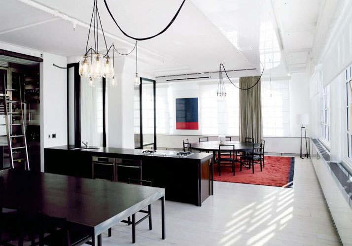 Фотография: Кухня и столовая в стиле Лофт, Квартира, Дома и квартиры, Проект недели, Индустриальный – фото на InMyRoom.ru