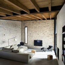 Фотография: Гостиная в стиле Кантри, Лофт, Квартира, Дом, Испания, Дома и квартиры – фото на InMyRoom.ru