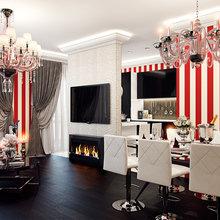 Фото из портфолио Квартира в красных тонах – фотографии дизайна интерьеров на INMYROOM