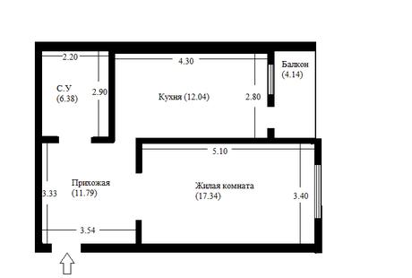 Помогите пожалуйста с расстановкой мебели и зонированием однокомнатной квартиры.