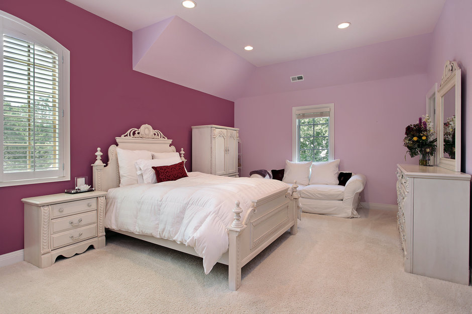 Фотография: Спальня в стиле Классический, Современный, Детская, Интерьер комнат – фото на InMyRoom.ru