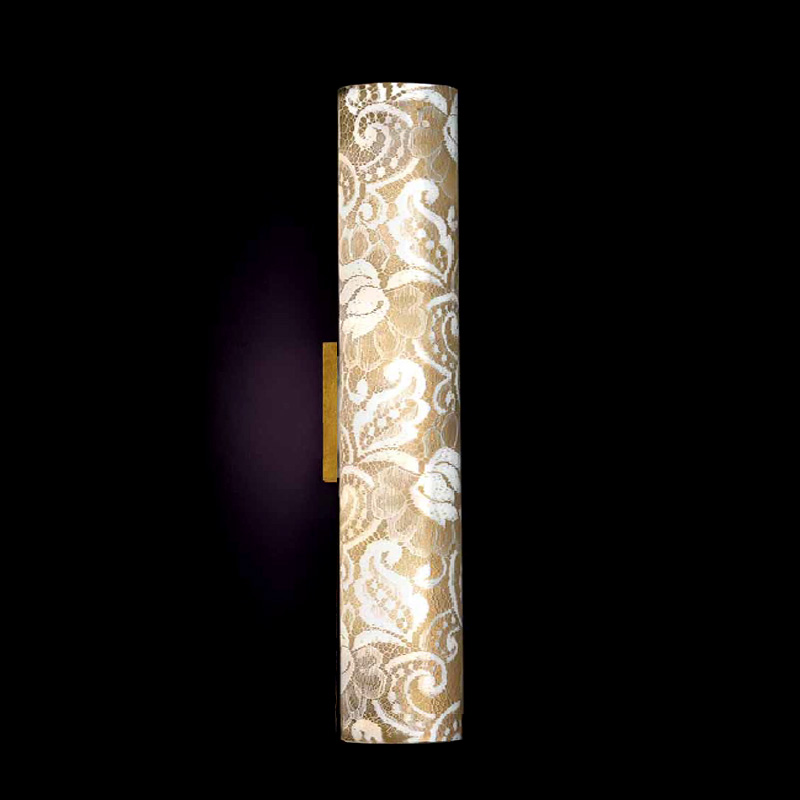 Купить Настенный/потолочный светильник Lamp di Volpato Patrizia Pizzo с плафоном из металла и ткани, inmyroom, Италия