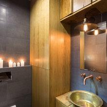 Фотография: Ванная в стиле Лофт, Квартира, Проект недели, Киев, гамак в квартире, новостройка – фото на InMyRoom.ru