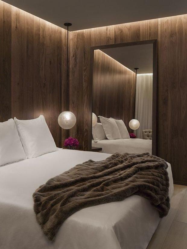 Фотография: Спальня в стиле Современный, Эко, Декор интерьера, Декор, Мебель и свет, освещение – фото на InMyRoom.ru