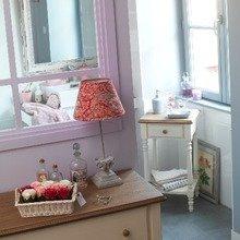 Фотография: Декор в стиле Кантри, Ванная, Интерьер комнат, Текстиль – фото на InMyRoom.ru