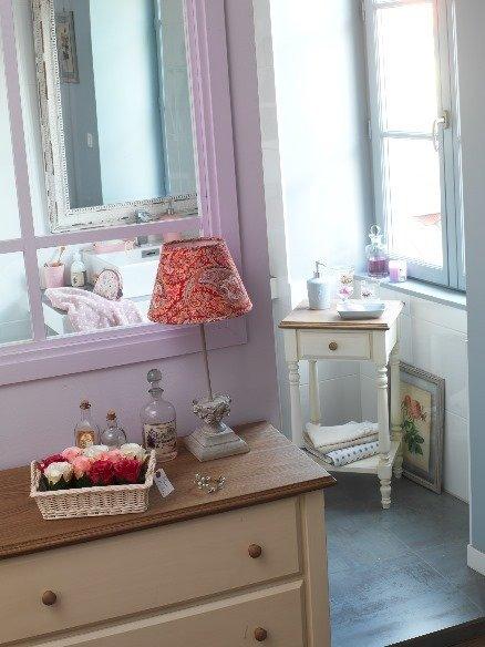 Фотография: Декор в стиле Прованс и Кантри, Ванная, Интерьер комнат, Текстиль – фото на InMyRoom.ru