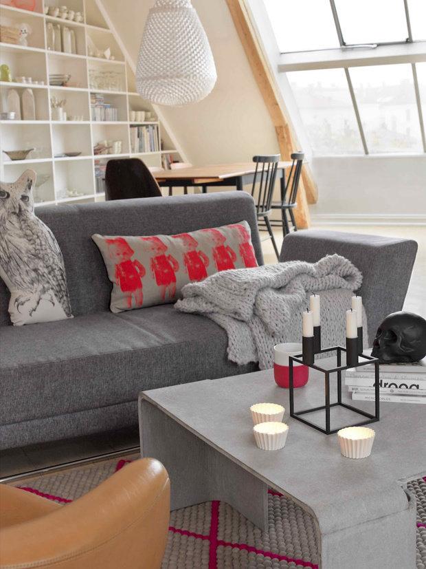 Фотография: Гостиная в стиле Современный, Квартира, Дома и квартиры, Интерьеры звезд – фото на InMyRoom.ru