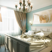 Фотография: Спальня в стиле Классический, Квартира, Дома и квартиры, Прованс, Проект недели, Москва – фото на InMyRoom.ru