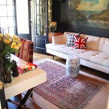 Фотография: Гостиная в стиле Кантри, Декор интерьера, Мебель и свет, Советы – фото на InMyRoom.ru