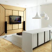 Фото из портфолио Дизайн загородного дома – фотографии дизайна интерьеров на INMYROOM