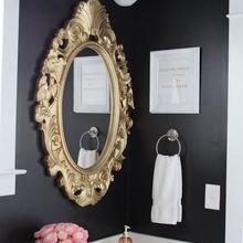 Фотография: Ванная в стиле Классический, Аксессуары, Декор, Мебель и свет, Советы, Черный, Бежевый, Синий, Серый – фото на InMyRoom.ru