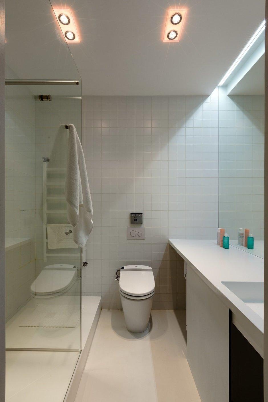 Фотография: Ванная в стиле Лофт, Малогабаритная квартира, Квартира, Украина, Дома и квартиры – фото на InMyRoom.ru