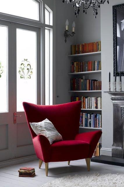 Фотография:  в стиле , Декор интерьера, Интерьер комнат, Декор, Красный, pantone, колористика, колорит – фото на InMyRoom.ru