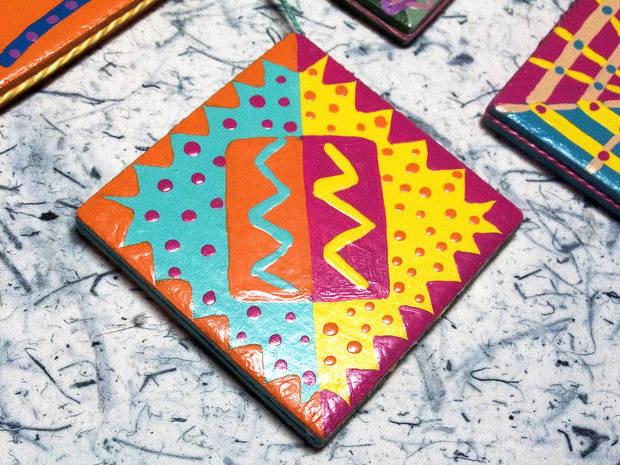 Покраска керамической плитки своими руками