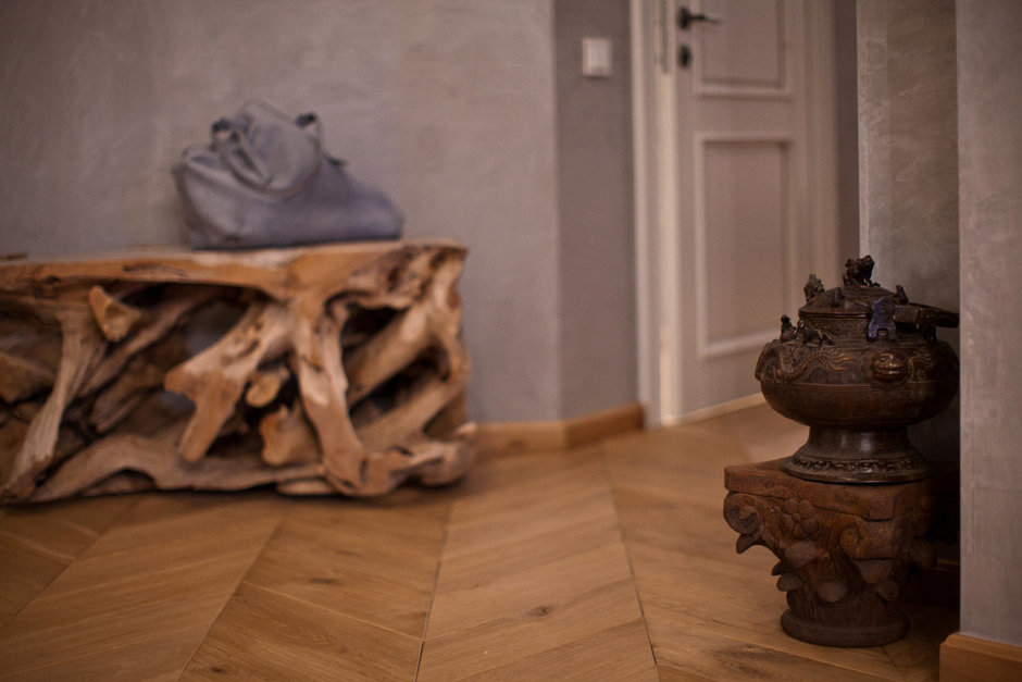 Фотография: Декор в стиле Эклектика, Эко, Квартира, Проект недели – фото на InMyRoom.ru