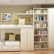 Фотография: Детская в стиле Современный, Малогабаритная квартира, Квартира, Дома и квартиры – фото на InMyRoom.ru
