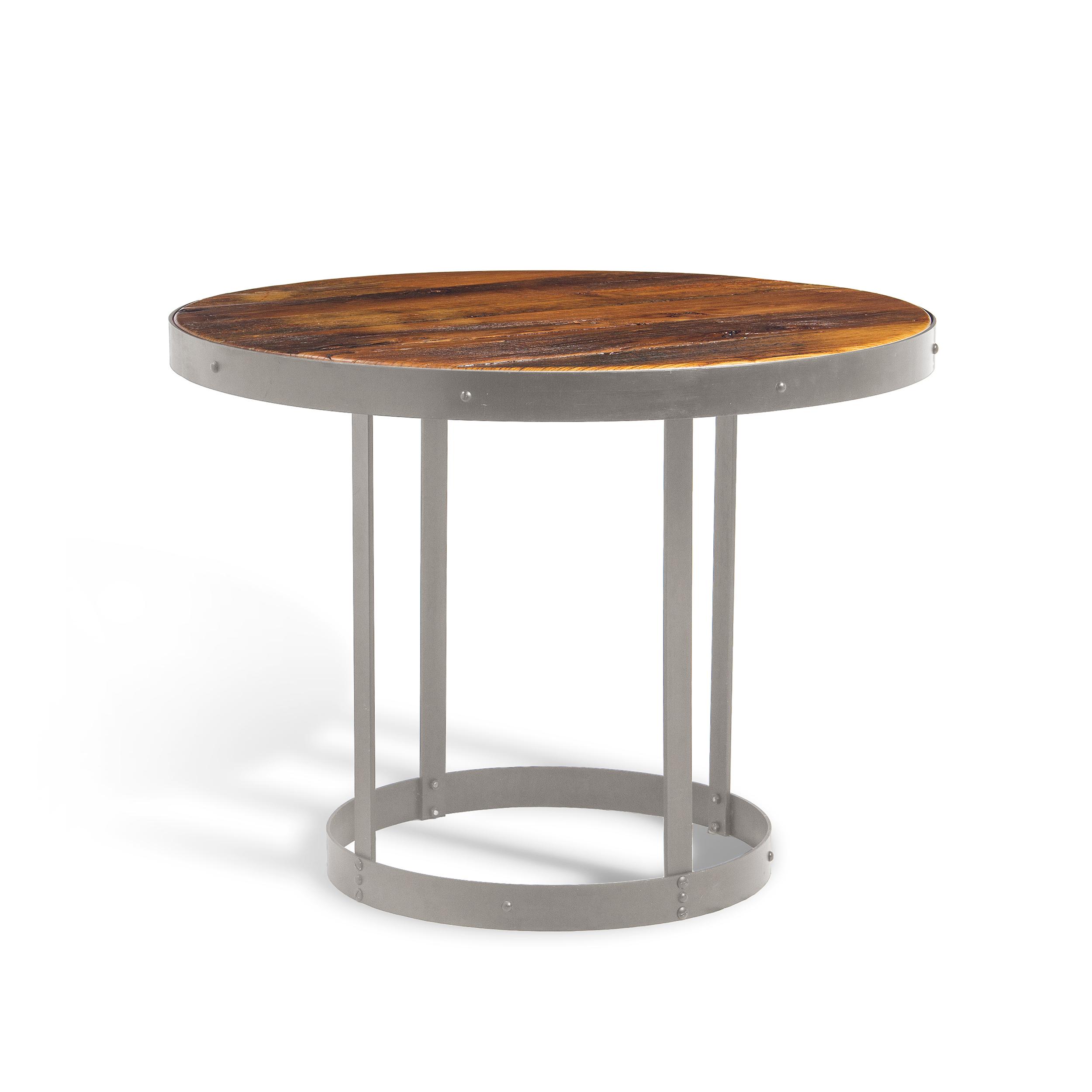 Обеденный стол Cramp со столешницей из натурального дерева