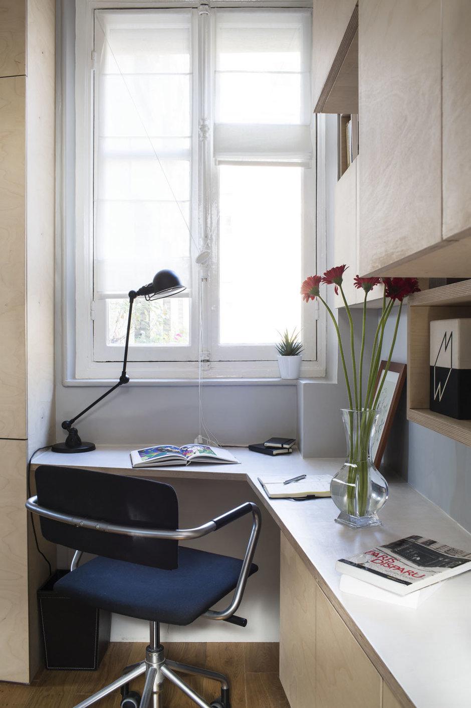 Фотография: Офис в стиле Современный, Лофт, Малогабаритная квартира, Квартира, Дома и квартиры – фото на InMyRoom.ru