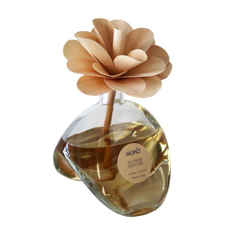 Купить Ароматический диффузор с цветком амбра и ваниль, inmyroom, Италия