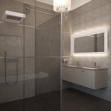 Фото из портфолио Квартира 130 кв.м. в центре Москвы. Вдохновение от Armani Casa.  – фотографии дизайна интерьеров на InMyRoom.ru