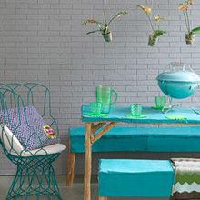 Фотография: Кухня и столовая в стиле Современный, Балкон, Интерьер комнат, специальная тема: балконы – фото на InMyRoom.ru