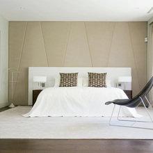 Фотография: Спальня в стиле Минимализм, Кухня и столовая, Гостиная, Классический, Квартира, Испания, Цвет в интерьере, Дома и квартиры, Бежевый, Подсветка, Перегородка – фото на InMyRoom.ru
