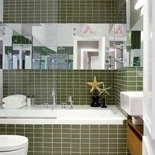 Фотография: Ванная в стиле Современный, Декор интерьера, Квартира, Дизайн интерьера, Цвет в интерьере – фото на InMyRoom.ru