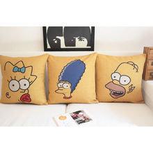 "Чехол на подушку ""Симпсоны"""