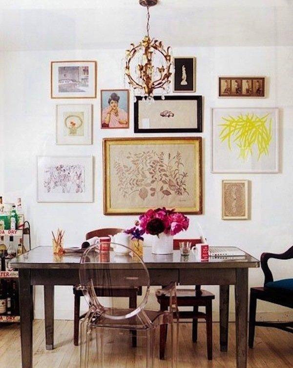 Фотография: Декор в стиле Эклектика, Декор интерьера, Декор дома, Стены, Картины, Постеры – фото на InMyRoom.ru