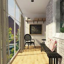 Фотография: Балкон, Терраса в стиле Лофт, Эклектика, Квартира, Дома и квартиры, IKEA, Проект недели – фото на InMyRoom.ru
