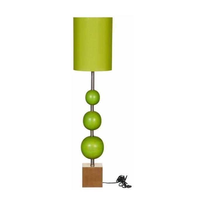 Торшер дизайнерский зеленый