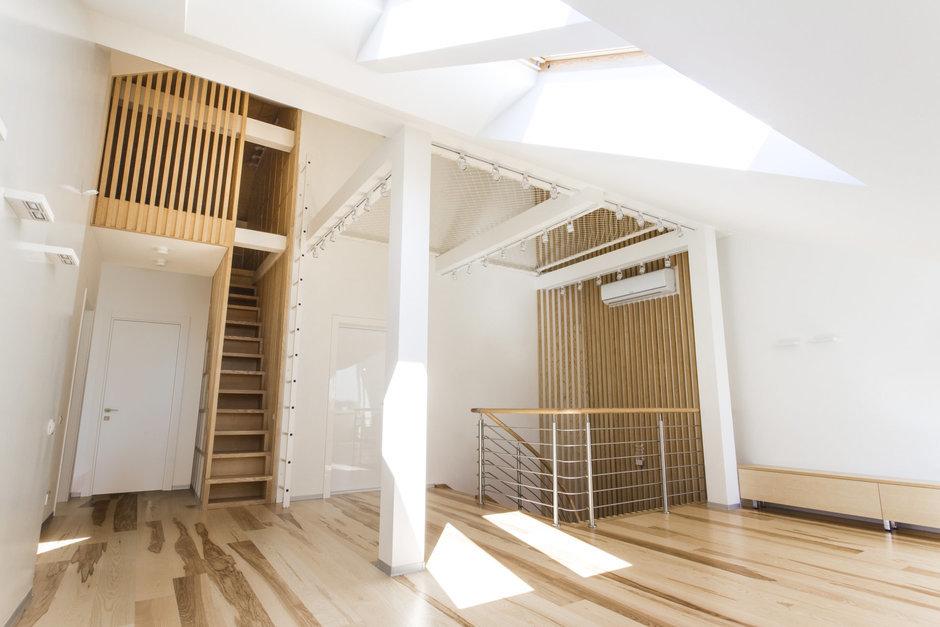 Фотография: Прихожая в стиле Лофт, Квартира, BoConcept, Дома и квартиры, Белый, IKEA, Проект недели, Мансарда – фото на InMyRoom.ru